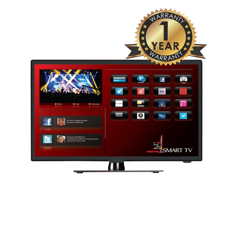 "40"" LED TV ANDROID (BRAND:- SMART EYE / NEW I BUSH)"