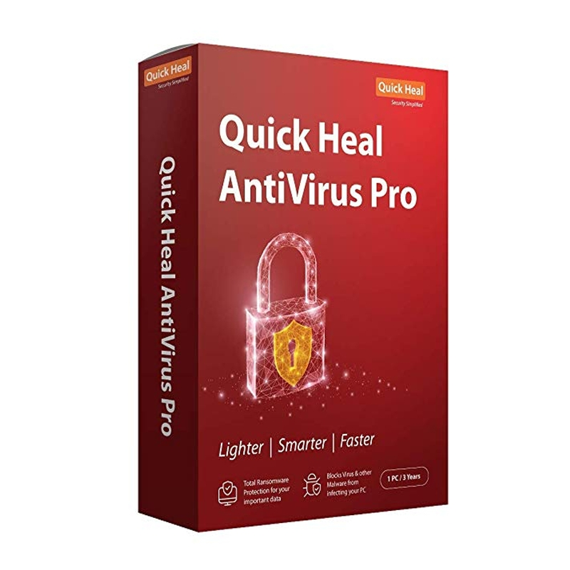 QUICK HEAL PRO ANTIVIRUS 3 USER
